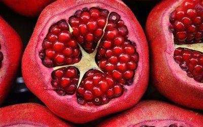 Granatapfel: Öffnen ohne Spritzer!